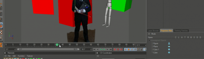 C4D Quick Tip: 01 Working with Greenscreen Footage.