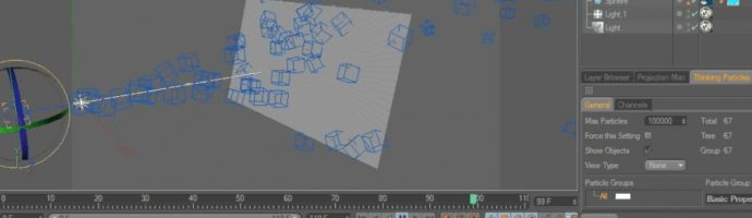 Tutorial 02: V-Ray Proxy, Cinema 4D Dynamics, MoGraph & Thinking Particles.