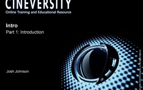 New VFX Cineversity Class