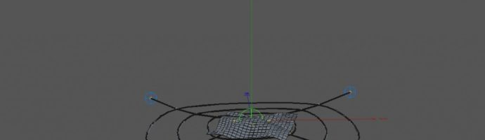 Spline Dynamics, Cloth and Particles (R&D)